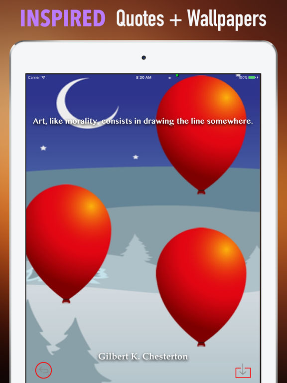 Red Balloon Wallpapers HD- Quotes and Photography screenshot 10