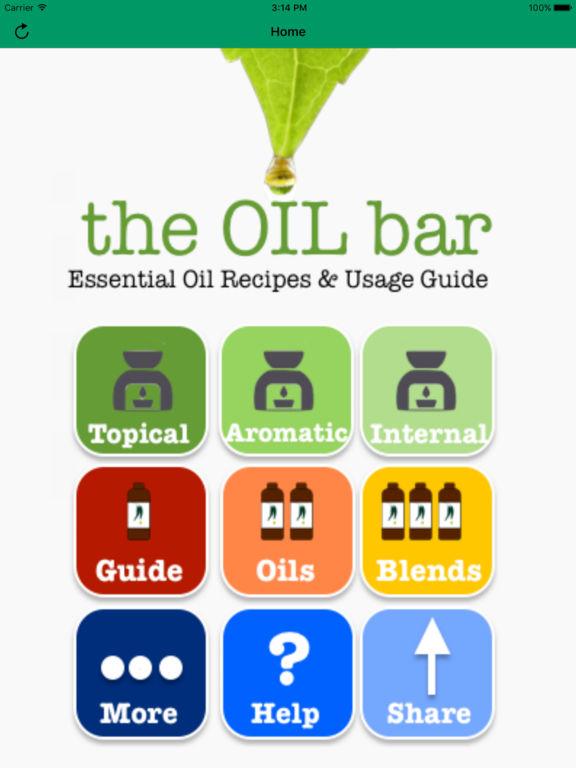Essential Oils Bar - Ref Guide, Single & Blend Oil screenshot 6