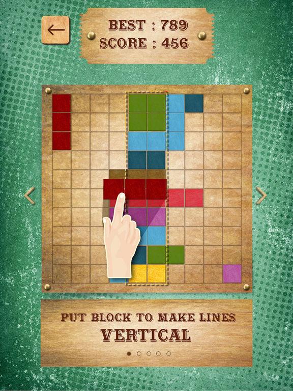 Retro Block Puzzle Game screenshot 8