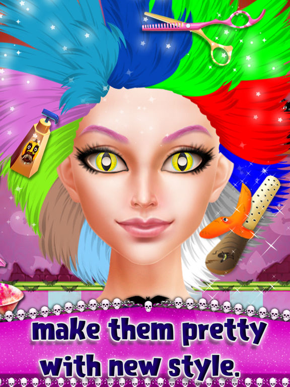 Happy Halloween Party Makeover screenshot 9