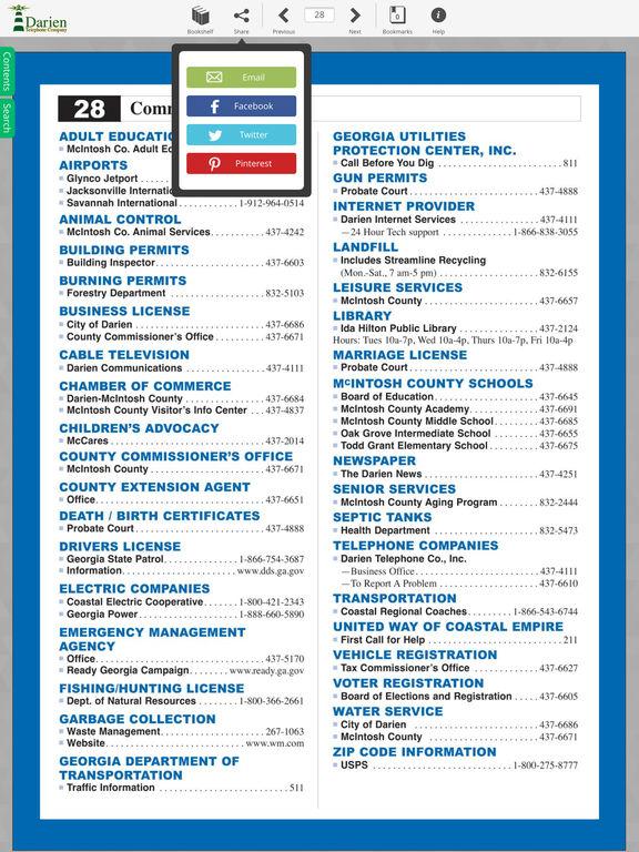 Darien Directory screenshot 10