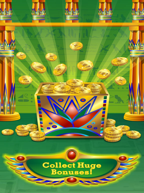Triple Pharaoh's Way Slot Machine Pro Edition screenshot 7