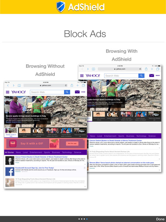 AdShield - Adblock Plus Battery Saver & Ads Filter screenshot 5