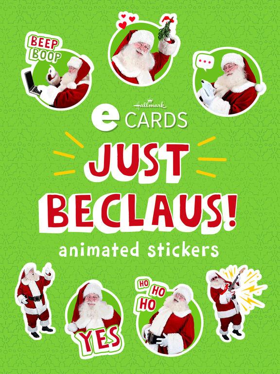 Just BeClaus - Animated Christmas Santa Stickers screenshot 5