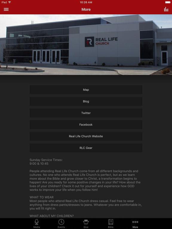 Real Life Church - IL screenshot 5