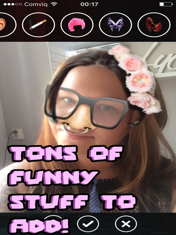 Funny faces - add stuff to photos! screenshot 7