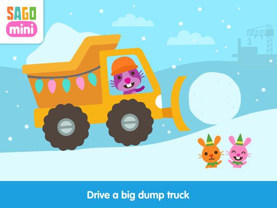 Sago Mini Holiday Trucks and Diggers screenshot 6