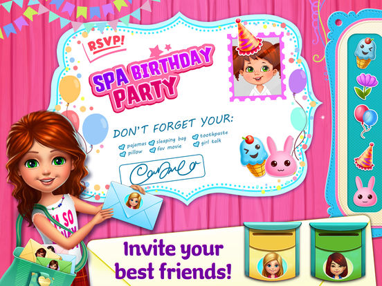 Spa Birthday Party! screenshot 10