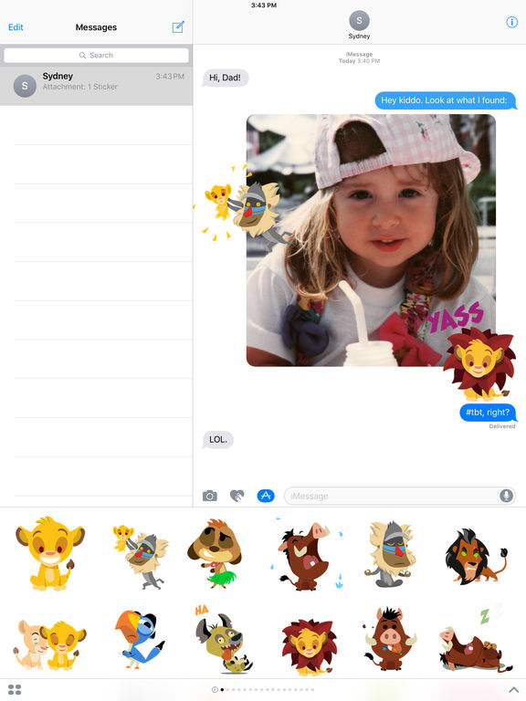 Disney Stickers: The Lion King screenshot 5