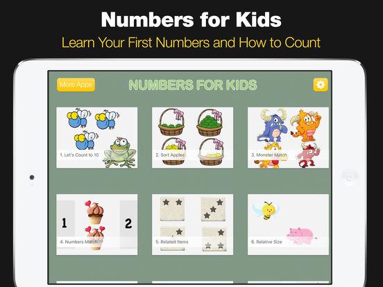 Numbers for Kids - Preschool Counting Games screenshot 6