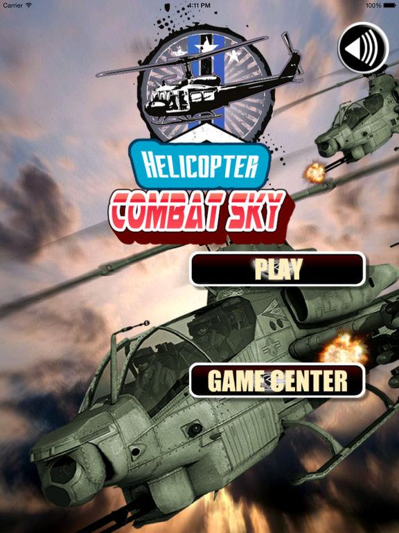 Helicopter Combat Sky Deluxe Pro -Flight Simulator screenshot 6