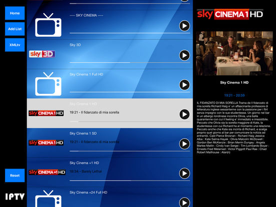 Iptv HD screenshot 2