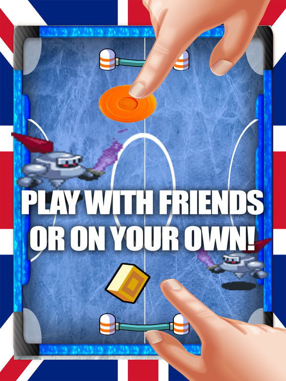 Air hockey arcade - Avoid the knights screenshot 3