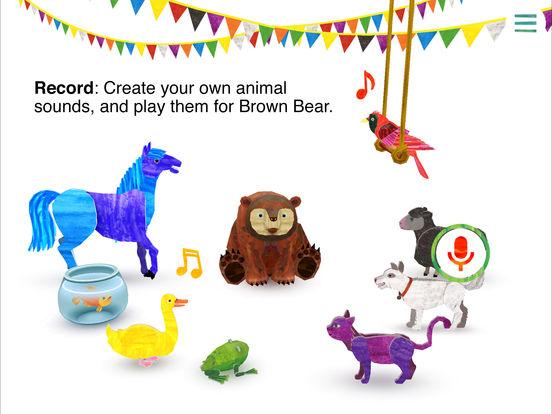 Eric Carle's Brown Bear Animal Parade screenshot 10