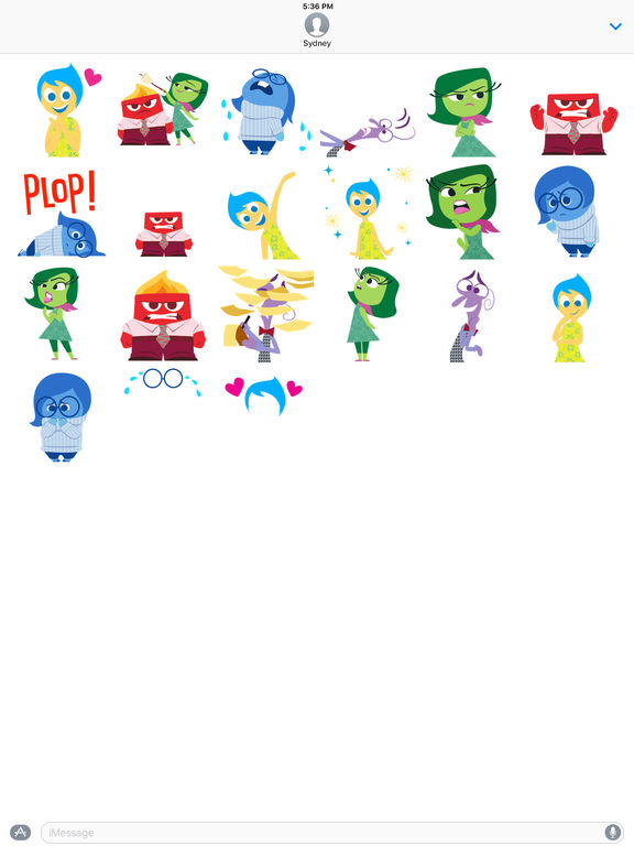 Disney Stickers: Inside Out screenshot 6