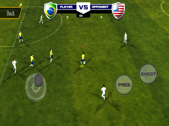 Hero Football Soccer  : World Champion Ship 3D screenshot 7