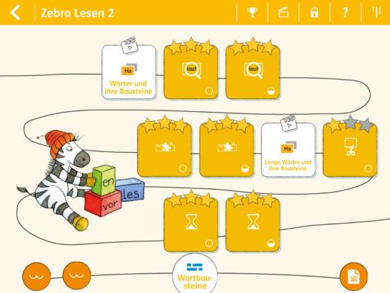 Lesen lernen 2 mit Zebra screenshot 6
