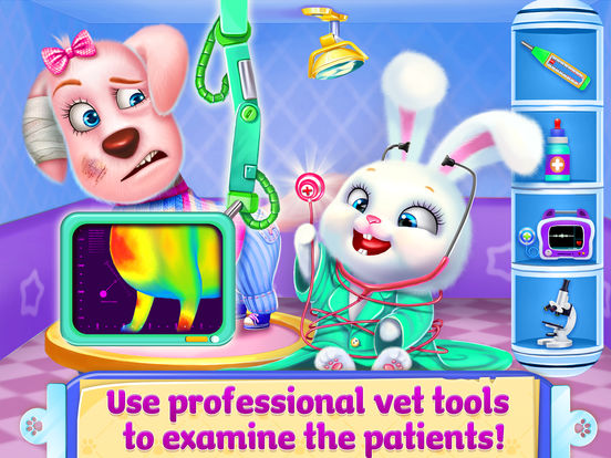 Doctor Fluff Pet Vet - Animal ER simulator screenshot 10