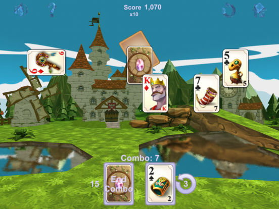 Chain Solitaire Royale screenshot 9