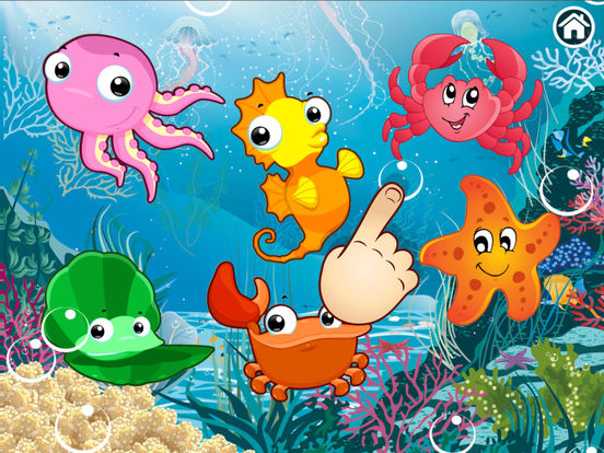 Ocean Puzzle for kids & toddlers (Premium) screenshot 8