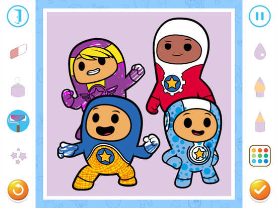 Go Jetters Colouring screenshot 8