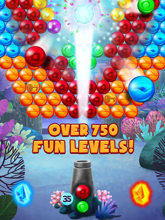 Bubble Atlantis Deluxe screenshot 8