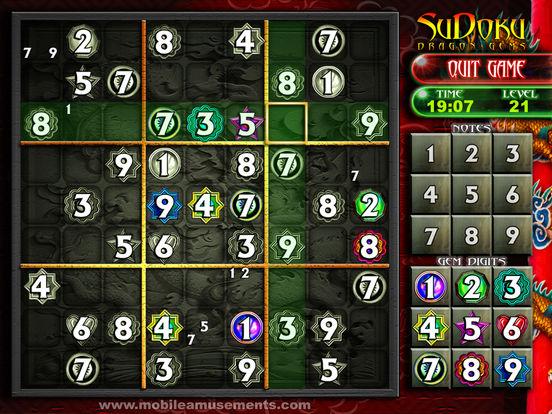 Sudoku Dragon Gems screenshot 9