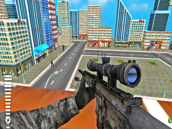 Epic Sniper Killer : New Free 3D Assassin Strike screenshot 4