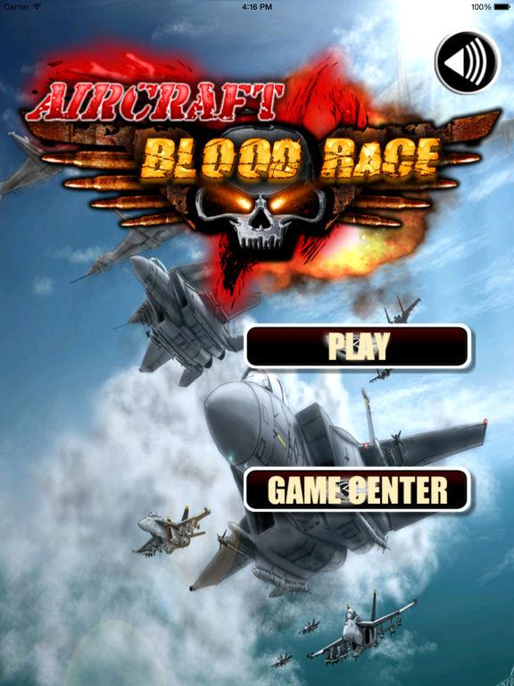 Aircraft Blood Race - Amazing Flight Simulator Airforce screenshot 6