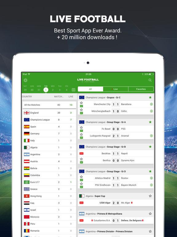 Live Soccer Scores -Skores screenshot 6