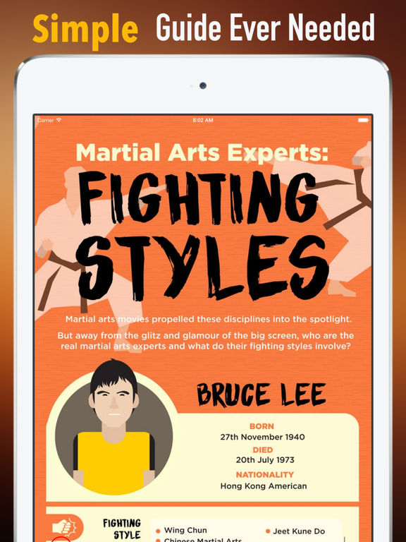 Martial Arts:Guide and Self Defense screenshot 6