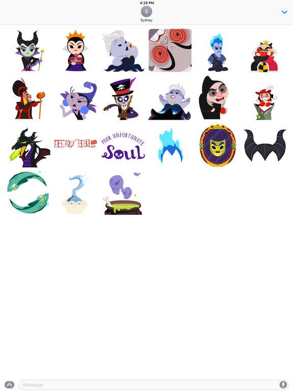 Disney Stickers: Villains screenshot 10