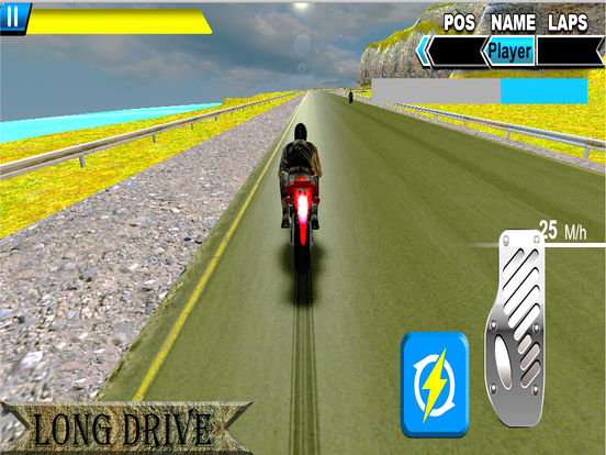 Sports Bike Rider : New Heavy Biker Race 2016 screenshot 6