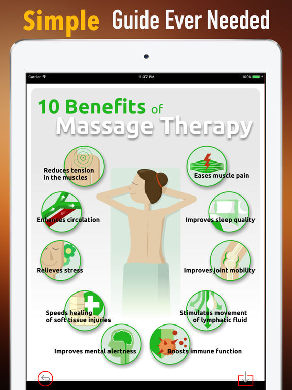 Back Massage 101-Study Tips and Health Tutorial screenshot 6