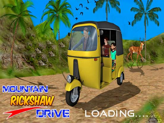 Mountain Ricksha Drive : 3D New Simulation 2016 screenshot 5