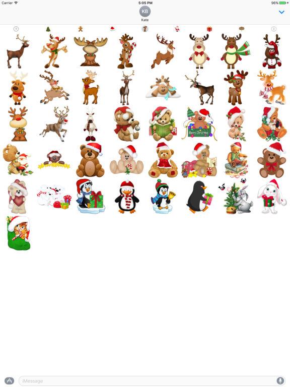 400+ Christmas Stickers screenshot 10