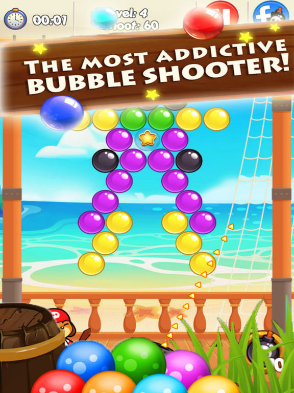Hunter Bubble Bommer - Treasure Ocean screenshot 6