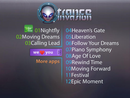 Trance Invasion (Premium) screenshot 5