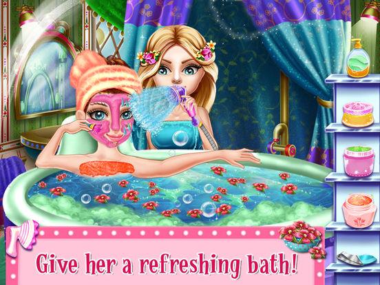 SnowFlake Princess Fairy Salon screenshot 6