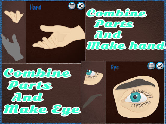 Human Body Part Puzzle For Kids screenshot 6