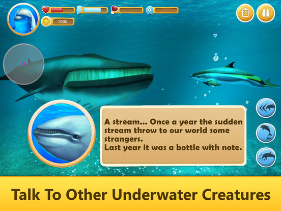 Ocean Dolphin Simulator: Animal Quest 3D Full screenshot 6