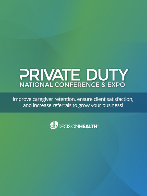 Private Duty Conference & Expo screenshot 4