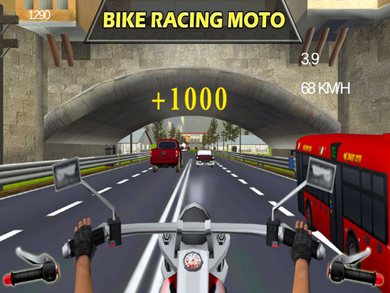 Traffic Moto Rider : Heavy Bike Racer screenshot 6
