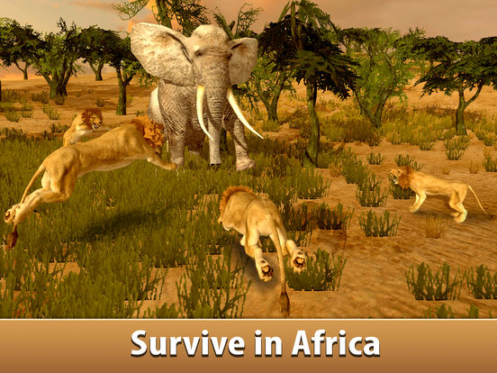 Big Elephant Simulator: Wild African Animal 3D screenshot 5