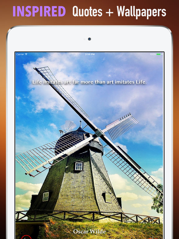 Windmills Wallpapers HD: Quotes and Art Pictures screenshot 10