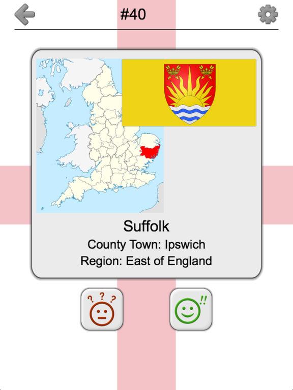 Counties of England Quiz screenshot 9