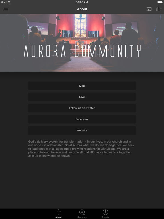 Aurora Community Church screenshot 4