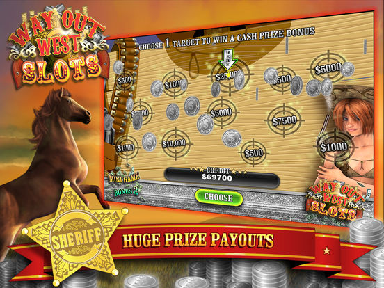 Way Out Wild West Slots screenshot 8