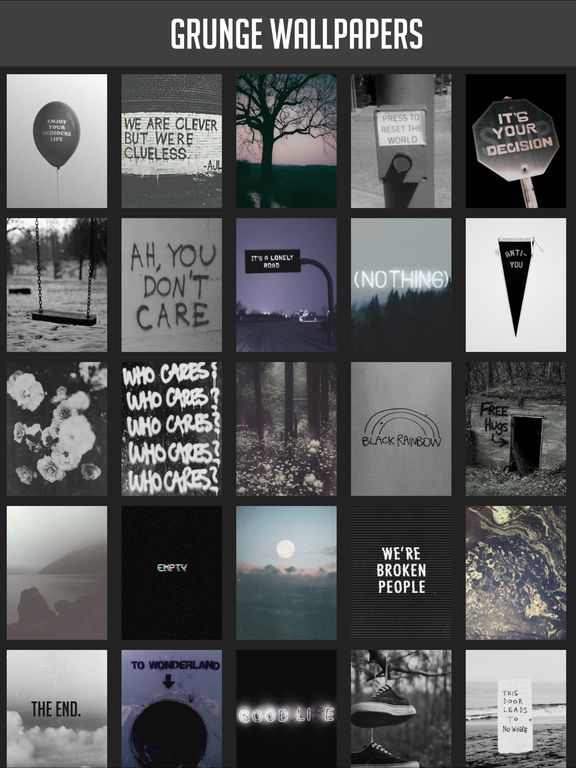 Grunge Wallpapers screenshot 3