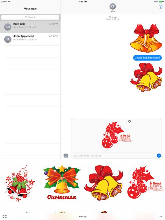 Christmas Jingle Bells Stickers screenshot 5